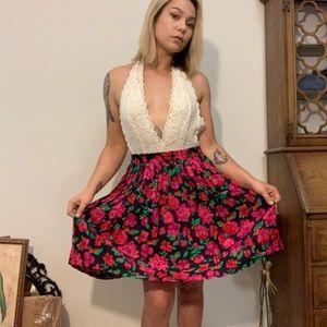 Vintage Betsey Johnson Inspired Rampage Skirt